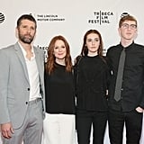 Julianne Moore and Her Family at Tribeca Film Festival 2016