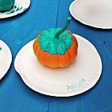Stem Dipped Pumpkin