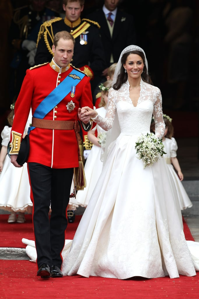 Of Course, There Was No Limit to Their Regal Style on Their Wedding Day