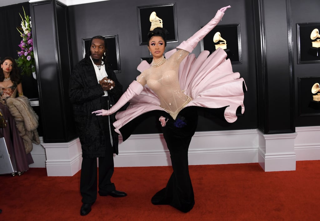 Cardi B's Dress at the 2019 Grammy Awards