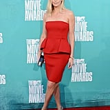 She  showed off her figure at the MTV Movie Awards back in June 2012.