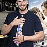 Chris Evans Laughing GIFs and Pictures