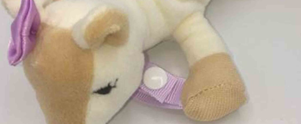 Dr. Brown's Lovey Pacifier and Teether Recall