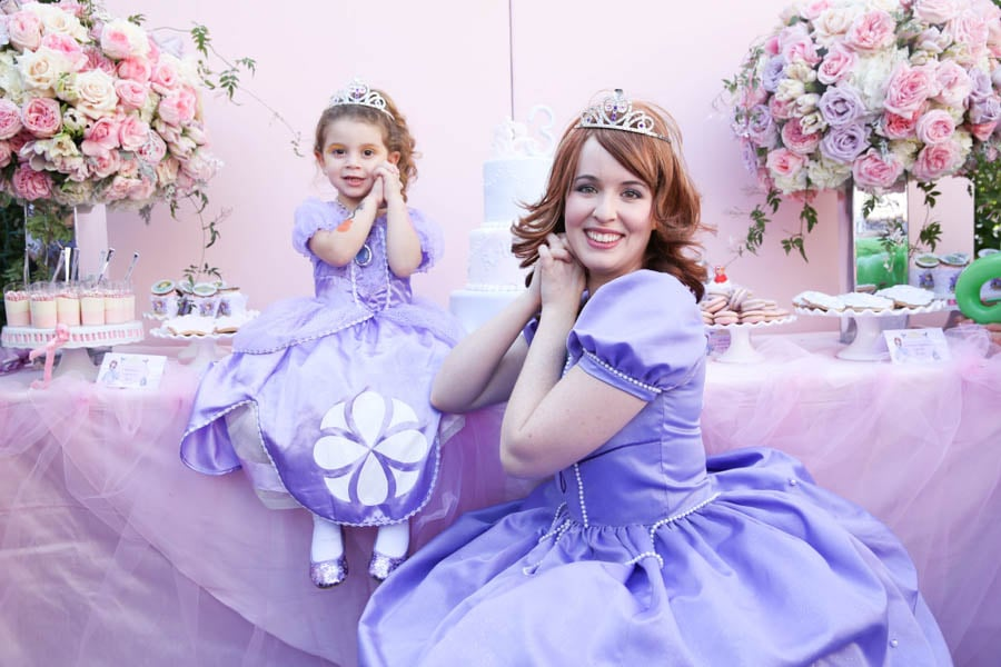 sofia the first birthday party ideas popsugar moms