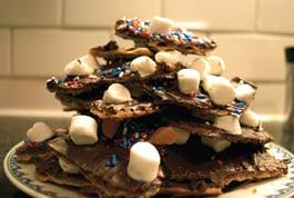 Choco-Toffee Matzoh