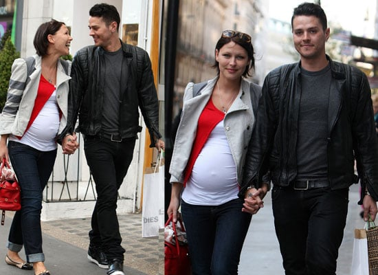 Photos Of Matt Willis And Pregnant Emma Willis Out in London