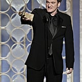 Quentin Tarantino won the best original screenplay award for Django Unchained.