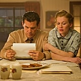 Mireille Enos and Josh Brolin in Gangster Squad.