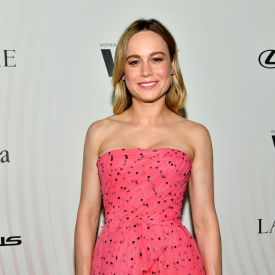 Brie Larson Barbell Hip Thrust