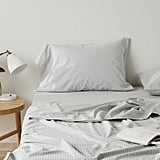 Madewell x Parachute Striped Cotton Sheet Set