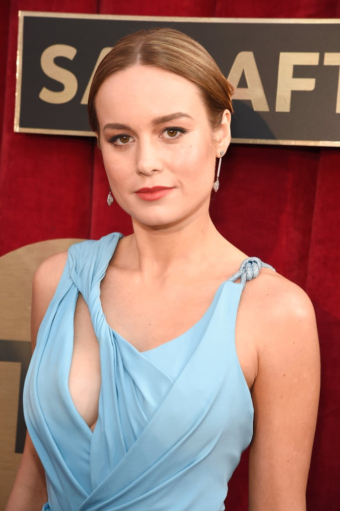Brie Larson S Hair At The Sag Awards 2016 Popsugar