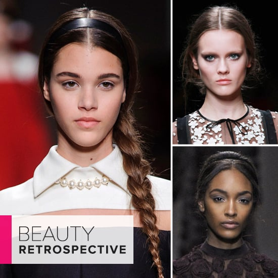 Look Back: Flip Through the Best Beauty Moments From Valentino's Runway