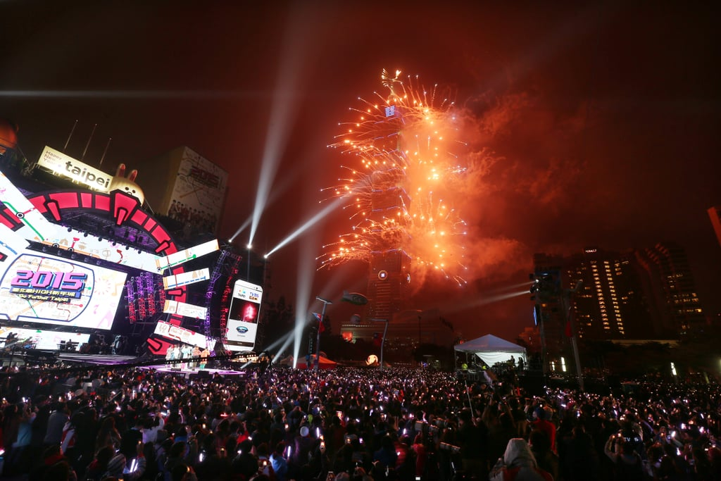 """The theme of the country's NY celebration: """"2015 iSee Taiwan."""""""