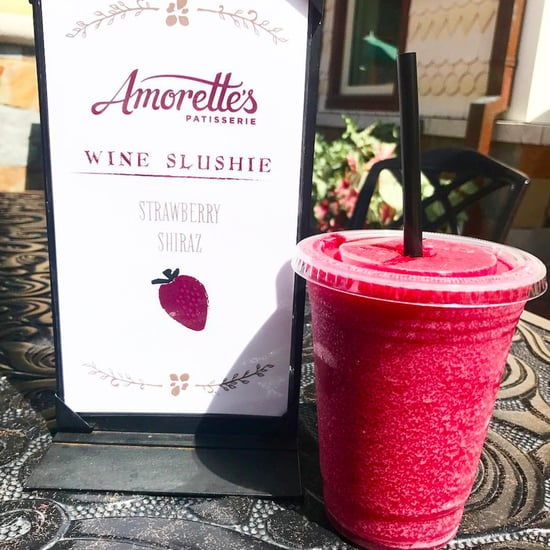 Red Wine Slushie at Amorette's at Disney Springs