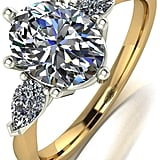 Very Oval and Pear Shaped Trilogy Ring