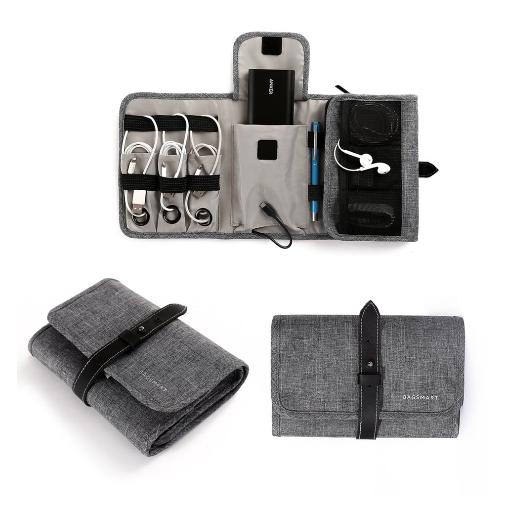 BAGSMART Compact Travel Cable Organizer