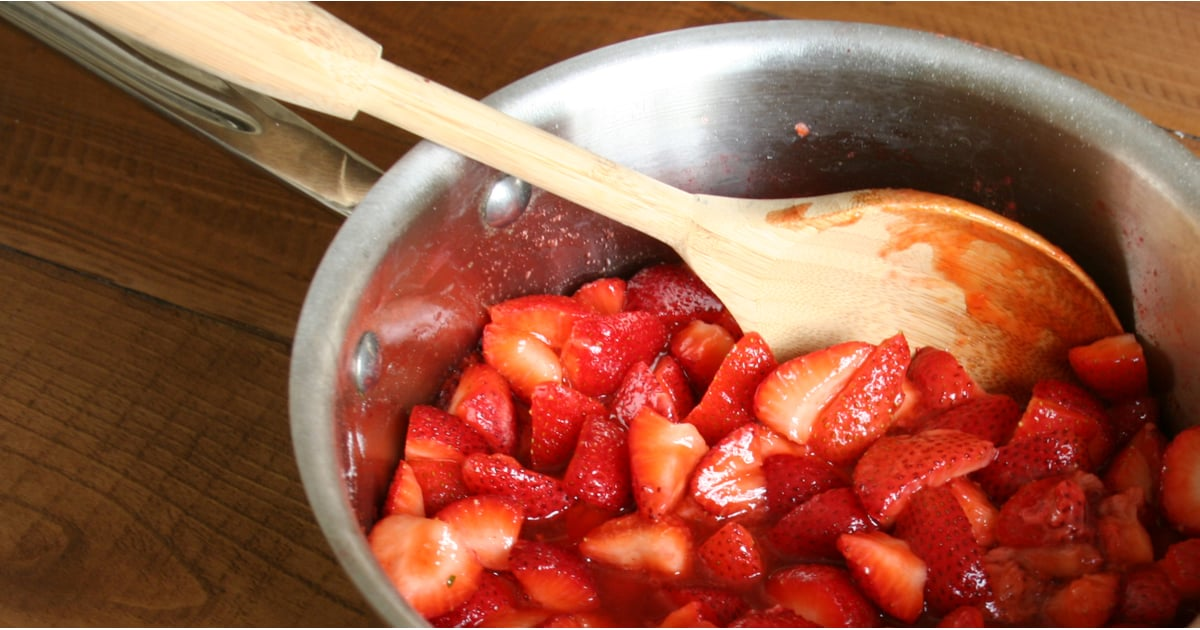 PopsugarLivingOriginal RecipesStrawberry JamPreserve Spring's Most Coveted Fruit With Strawberry JamMay 6, 2015 by Anna Monette Roberts81 SharesStrawberry jam is one of those must-make recipes that every home cook should know. What better way to preserve Spring's most coveted berry than by making a jam? Perhaps a classic pairing suits your fancy. Spread the jam over toast, pour it over brie cheese, or make a mean PB and J. Fruit jams also taste great in a turkey sandwich or in grilled cheese sandwiches. Alternatively, try it in a jam cocktail or whip a few tablespoons in cream cheese or a batch of fresh buttercream frosting. Maybe you enjoy it solo, sneaking a secretive spoonful each time you pass the fridge. I won't tell! Either way, take a look at my favorite strawberry jam recipe.Strawberry JamFrom Anna Monette Roberts, POPSUGAR FoodIngredients2 pounds ripe strawberries, quartered2 lemons, juiced3 tablespoons fruit pectin1 1/2 cups sugarDirectionsTo sterilize jar: Wash jar, metal seal, and lid in soapy wat - 웹