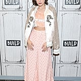 Millie Bobby Brown at the Build Series at Build Studio in 2017