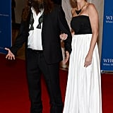 Duck Dynasty stars Willie and Korie Robertson got in on the fun.