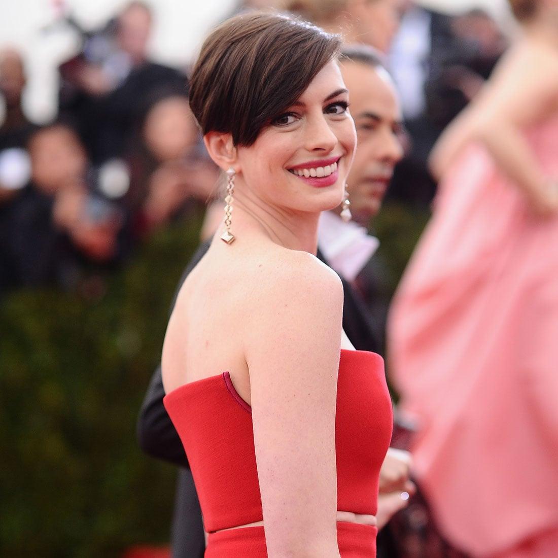 Anne Hathaway Red Carpet Evolution | POPSUGAR Fashion