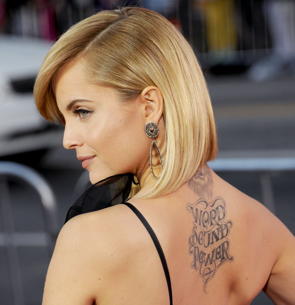 Top 20 celebrity tattoos | Temporary Tattoo Blog - Pinterest