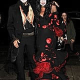 Kate Moss and Jamie Hince mastered their Dia de los Muertos costumes for a London party in 2013.