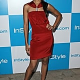 Zoe looked red hot at the InStyle Summer soiree in '07.