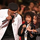 Will Smith hammed it up with son Jaden and daughter Willow at Nickelodeon Kids' Choice Awards.