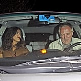 Salma Hayek and Halle Berry Party It Up With Their French Men