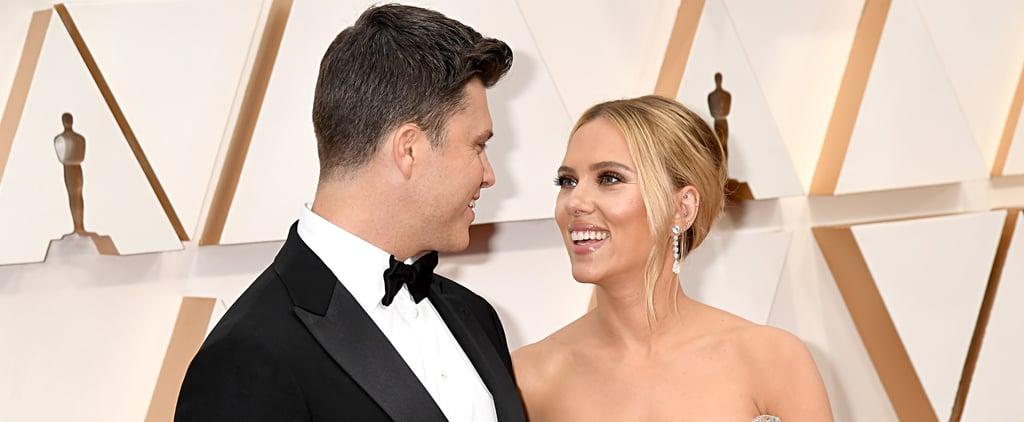 Scarlett Johansson's Earrings at Oscars 2020