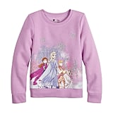 Disney's Frozen 2 Girls 4-12 Fleece Sweatshirt by Jumping Beans®