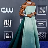 Billy Porter at the 2020 Critics' Choice Awards