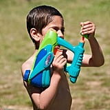 Host a water fight.