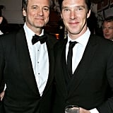 Colin Firth and Benedict Cumberbatch