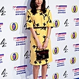 Gemma Chan at the 2012 British Comedy Awards