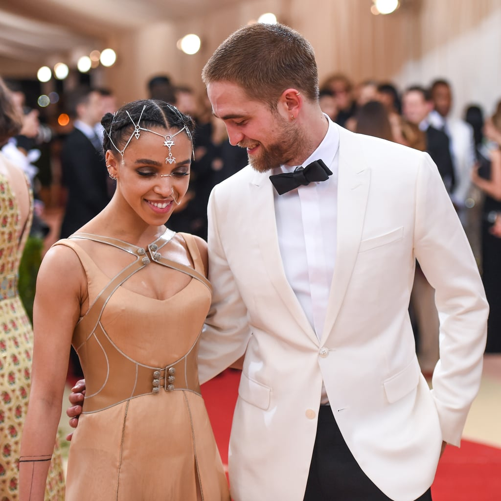 Robert Pattinson and FKA Twigs at the Met Gala 2016
