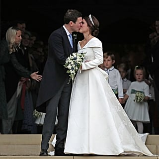 Princess Eugenie and Jack Brooksbank's Wedding Kiss Video