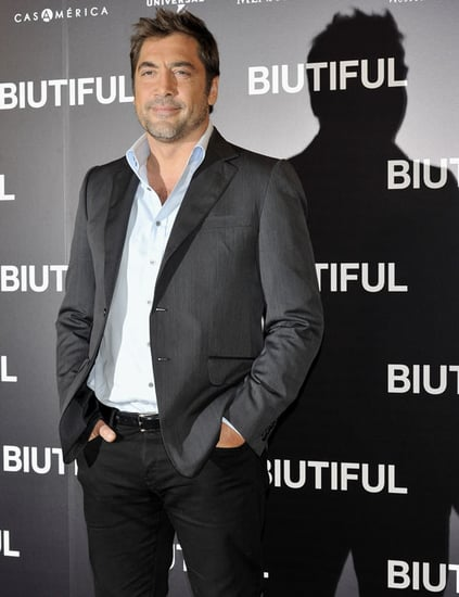Pictures of Javier Bardem at a Madrid Screening of Biutiful