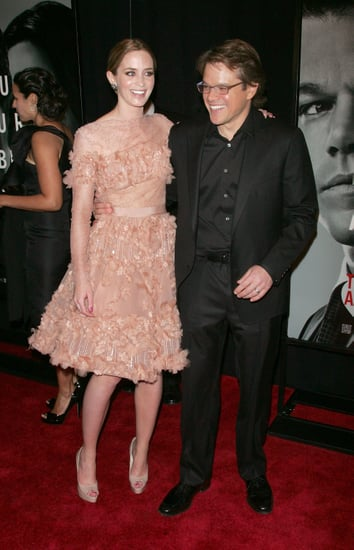Pictures of Emily Blunt and Matt Damon at The Adjustment Bureau Premiere in NYC