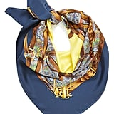 Lauren Ralph Lauren Silk Square Scarf ($85)