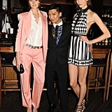 Constance Jablonski, Bryan Boy, and Karlie Kloss