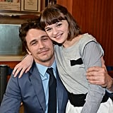 When She Hung Out With Longtime Friend James Franco