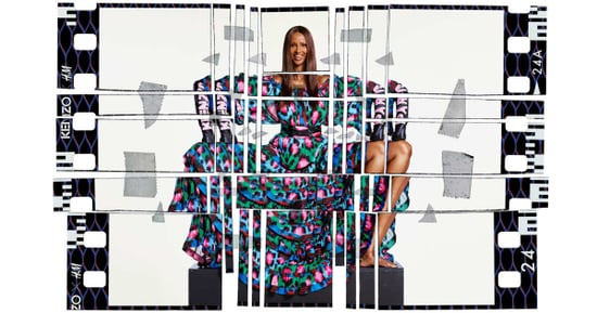 See Iman and Chance the Rapper in New Images From the Kenzo x H&M Campaign
