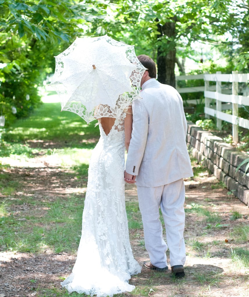 vintage backyard country wedding inspiration popsugar love u0026