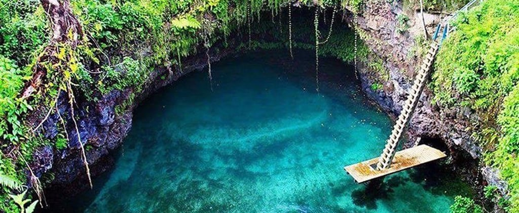 There's a Tropical Paradise Hidden in the Middle of a Samoan Lava Field