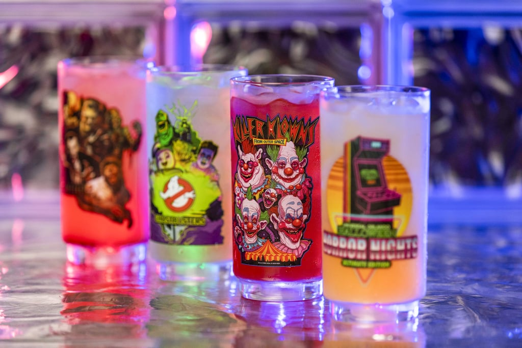 Universal Studios Blood Pit-Fuzzy Navel and Vampire's Curse Drinks