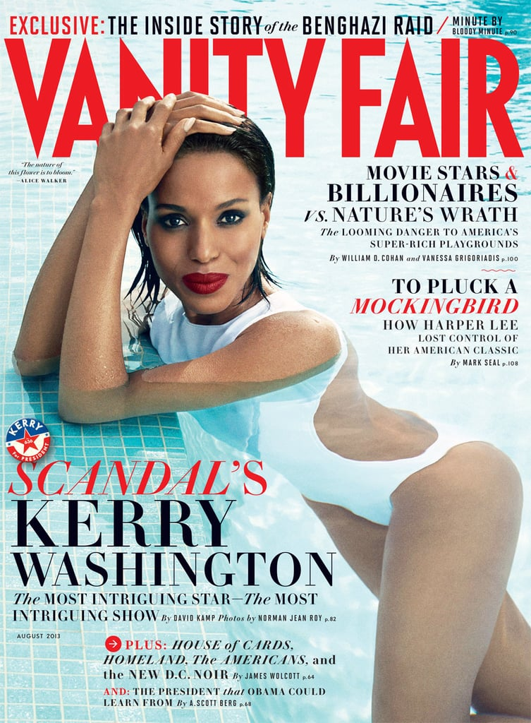 Kerry graced the cover of multiple magazines this year, including August's Vanity Fair, Glamour, Lucky, Elle, and more. She took over newsstands everywhere! Source: Vanity Fair