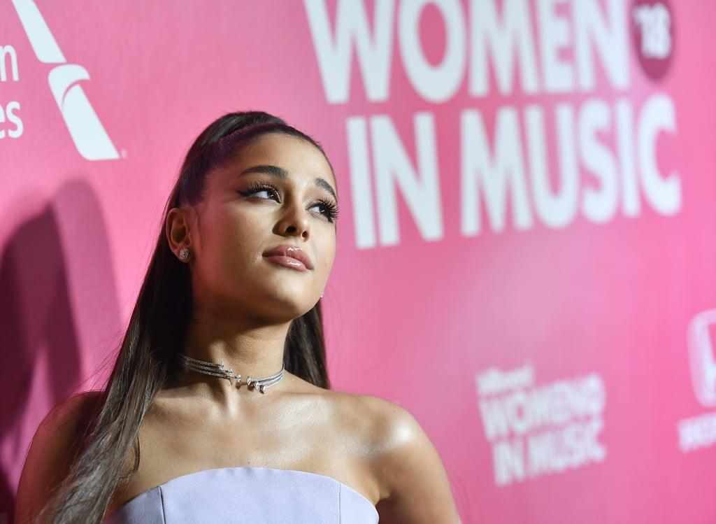 Ariana Grande Dress at 2018 Billboard Women in Music