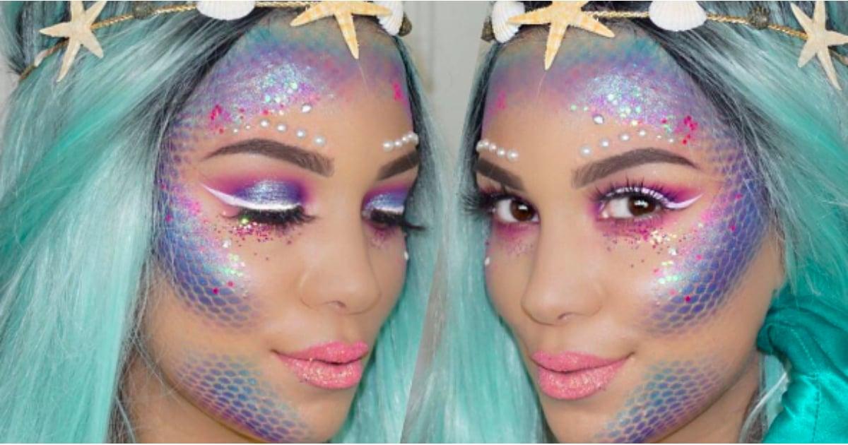 Mermaid Makeup Tutorial From Instagram Popsugar Beauty