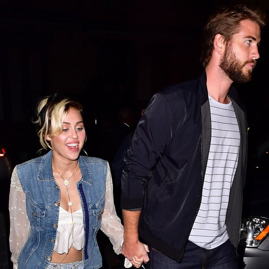 Miley Cyrus and Liam Hemsworth Out in NYC September 2016